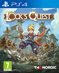 Lock's Quest (PS4) - Cover