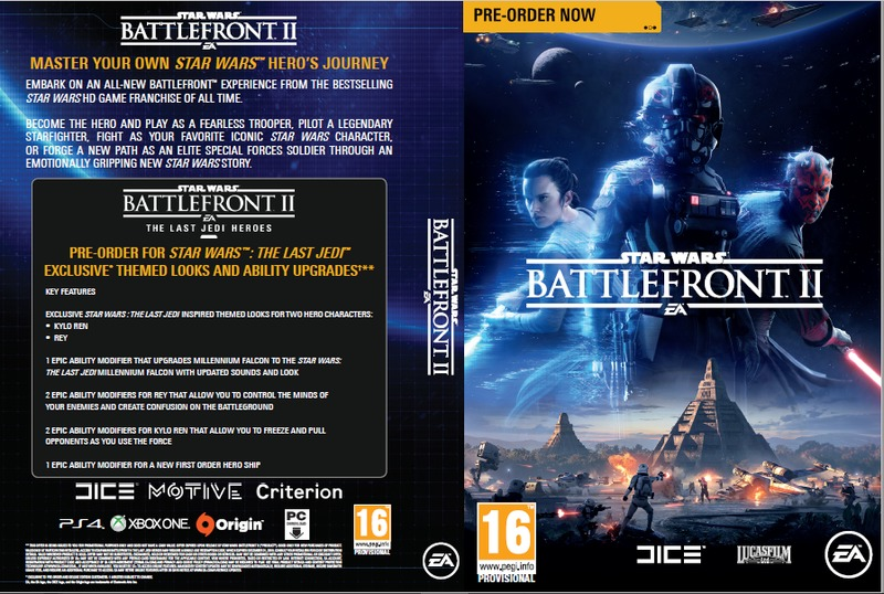 star wars battlefront ii ps4 video games online raru. Black Bedroom Furniture Sets. Home Design Ideas