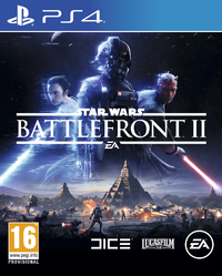 Star Wars: Battlefront II (PS4) - Cover