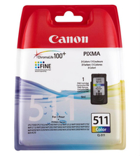 Canon CL-511 Colour Ink Cartridge (Cyan, Magenta, Yellow) - Cover