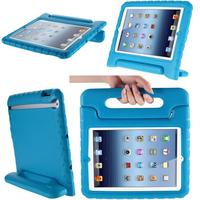 i-Blason Apple iPad Air Case / iPad 5 ArmorBox Kido Series Light Weight Super Protection Convertable Stand Cover Case (Blue) (Personal Computers)