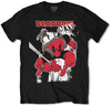 Marvel Deadpool Max Mens Black T-Shirt (Medium)