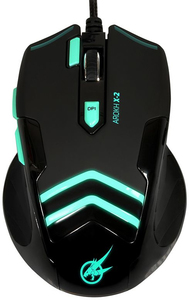 Port Designs - AROKH X-2 Wired Gaming Mouse - Green - Cover