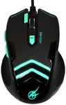 Port Designs - AROKH X-2 Wired Gaming Mouse - Green