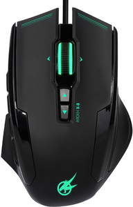 Port Designs - AROKH X-3 Wired Gaming Mouse - Green - Cover