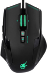 Port Designs - AROKH X-3 Wired Gaming Mouse - Green