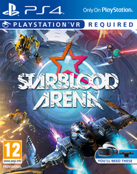 Starblood Arena: VR (PS4) - Cover