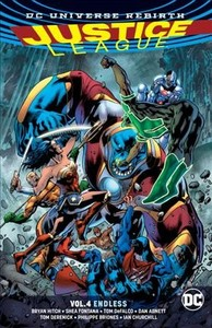 Justice League 4 - Bryan Hitch (Paperback) - Cover