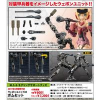 M.S.G Modeling Support Goods Weapon Unit 38 Bomb Set (Models)
