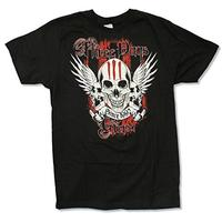 "Adult Three Days Grace ""Since 1992 Tour 2013 (Cadott)"" Black T-Shirt (Medium) (Misc.)"