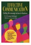 Effective Communication - L.E. Erasmus (Paperback)