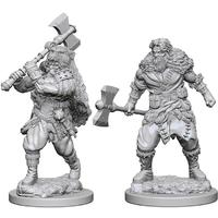 Dungeons & Dragons - Nolzur's Marvelous Unpainted Minis: Human Male Barbarian