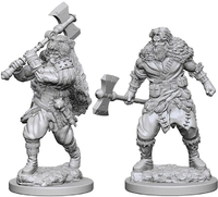 Dungeons & Dragons - Nolzur's Marvelous Unpainted Minis: Human Male Barbarian - Cover