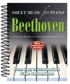 Ludwig Van Beethoven: Sheet Music For Piano (Spiral bound)