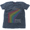Pink Floyd - Prism Arch Mens Snow Wash Denim T-Shirt (Medium)