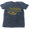 The Beatles - Yellow Submarine Nothing Is Real Mens Snow Wash Denim T-Shirt (Large)