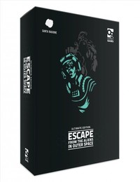 Escape from the Aliens in Outer Space: Ultimate Edition (Board Game) - Cover