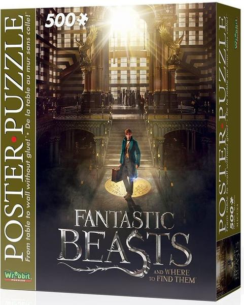 fantastic beasts and where to find them poster puzzle 500 pieces raru. Black Bedroom Furniture Sets. Home Design Ideas