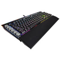 Corsair Gaming K95 RGB PLATINUM Mechanical Keyboard Cherry MX Speed - Black