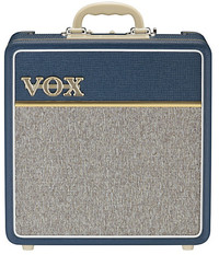 Vox AC4C1-BL 4 Watt Valve Guitar Amplifier (Blue)