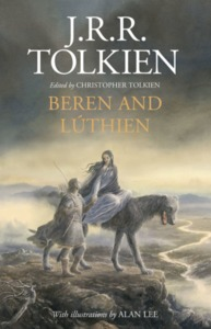 Beren and Lúthien - J. R. R. Tolkien (Hardcover) - Cover