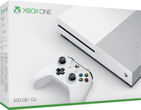 Microsoft - Xbox One S 500GB Console - White