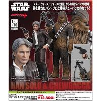 """""""Star Wars"""" Artfx+ Han Solo & Chewbacca 2 Pack the Force Awakens Edition (Figures)"""
