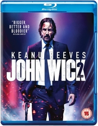 John Wick: Chapter  2 (Blu-ray) - Cover