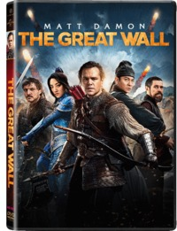 The Great Wall (DVD) - Cover