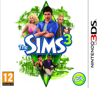 The Sims 3 (3DS) - Cover