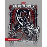 Dungeons & Dragons - Character Sheets (Role Playing Game)