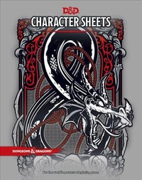 Dungeons & Dragons - Character Sheets (Role Playing Game) - Cover