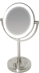 Homedics - Double-Sided Mirror with Dimmable LED