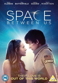 Space Between Us (DVD) - Cover
