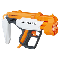NERF Modulus Blaster Stockshot and Barrel Gun