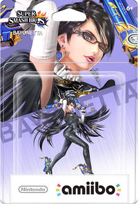 Nintendo amiibo - Bayonetta (For 3DS/Wii U/Switch) - Cover