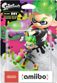 Nintendo amiibo - Splatoon Collection New Inkling Boy (For 3DS/Wii U/Switch) - Cover