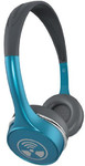 iFrogz Toxix Plus On-Ear Headphones with Mic - Turquoise