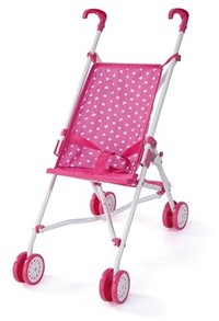 Bayer - Buggy Doll's Pram (Pink)