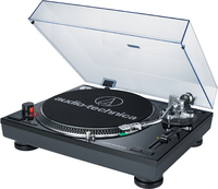 Audio-Technica Professional Direct Drive Turntable With USB (Black) - Cover