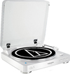 Audio-Technica Wireless Fully Automatic Belt-Drive Stereo Turntable (White)