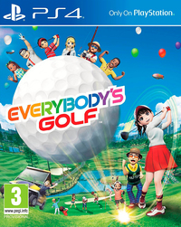 Everybody's Golf (PS4) - Cover