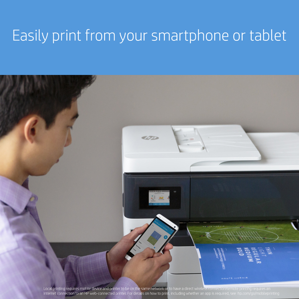 HP OfficeJet Pro 7740 Wide Format All-In-One MFP Printer