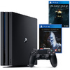 Sony PlayStation 4 Pro 1TB Console + Injustice 2 + Shadow of Mordor - GOTY (PS4) Cover