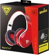 Tuff-Luv Wireless Bluetooth 3.0 Stereo Headset Headphones with Mic Support FM Radio and Tf Card - Red (iPhone, Samsung, PS3 Xbox)