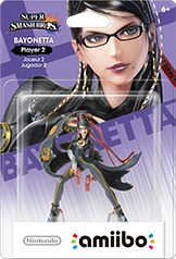 Nintendo amiibo - Bayonetta Long Hair - Player 2 (For 3DS/Wii U/Switch) - Cover