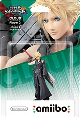 Nintendo amiibo - Cloud Advent Children - Player 2 (For 3DS/Wii U/Switch) - Cover