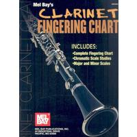 Clarinet Fingering Chart - William Bay
