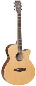 Tanglewood TW9 Winterleaf Super Folk Acoustic Guitar (Natural) - Cover