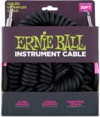 Ernie Ball 6044 Ultraflex Coiled 10 Metre Instrument Cable (Black)